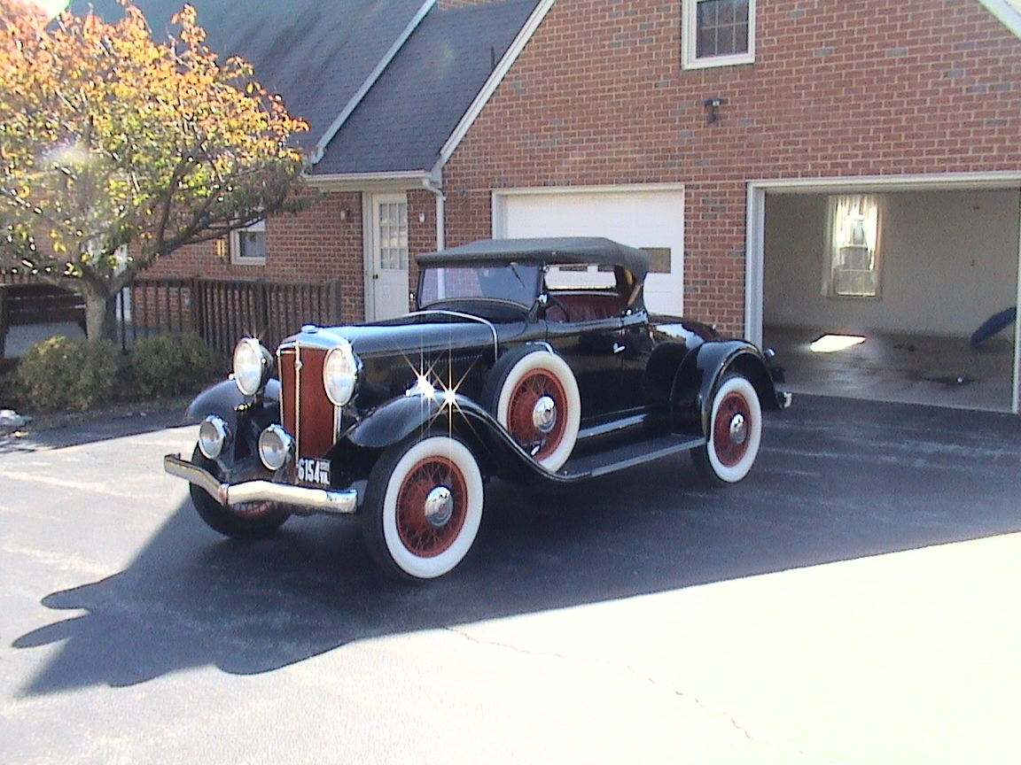 chevrolet old car 1931